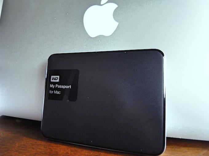 Macのバックアップ用に外付けディスクを購入。