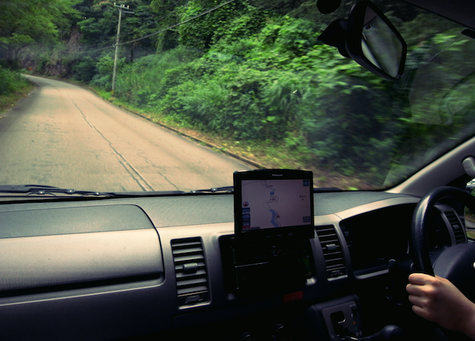 車旅のためにハイエースの運転を練習しました。