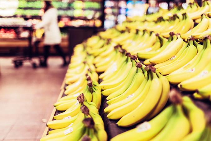 バナナを冷凍しておやつに。