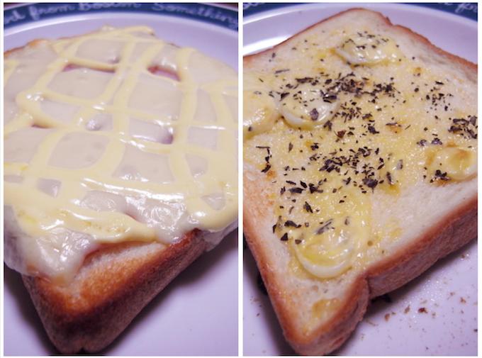 食パンを簡単にアレンジトースト【日曜の朝食】