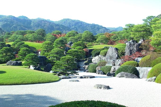 【ハイエース旅行】足立美術館の庭園と美術品【2日目島根県②】