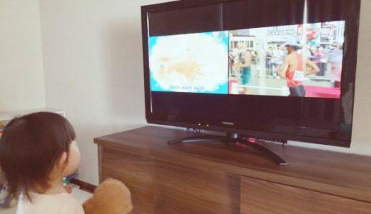 テレビの二画面表示が役に立つとき